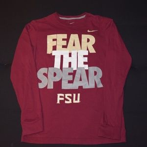 FSU Fear the Spear long sleeved shirt (NIKE)Unisex
